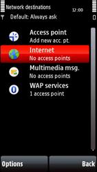 Nokia 5800 Xpress Music - Internet - Manual configuration - Step 6