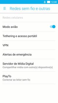 Asus Zenfone 3 - Rede móvel - Como ativar e desativar o modo avião no seu aparelho - Etapa 6
