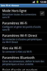 Samsung S7500 Galaxy Ace Plus - Bluetooth - connexion Bluetooth - Étape 7