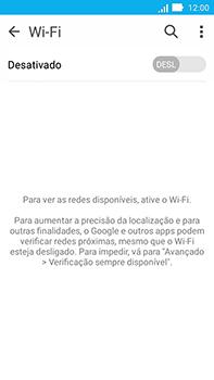 Asus Zenfone Go - Wi-Fi - Como configurar uma rede wi fi - Etapa 5
