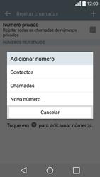 LG C70 / SPIRIT - Chamadas - Como bloquear chamadas de um número -  8