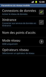 Samsung I8160 Galaxy Ace II - Internet - configuration manuelle - Étape 8