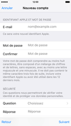Apple iPhone 6 iOS 9 - Applications - Créer un compte - Étape 12