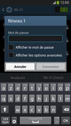Samsung G386F Galaxy Core LTE - Wifi - configuration manuelle - Étape 6