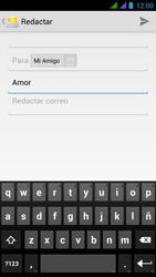 BQ Aquaris 5 HD - E-mail - Escribir y enviar un correo electrónico - Paso 8