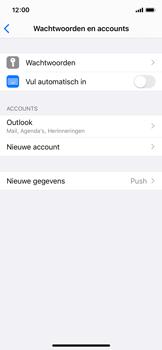 Apple iPhone X - iOS 13 - E-mail - Handmatig Instellen - Stap 9