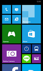 Nokia Lumia 635 - Applicaties - Account instellen - Stap 1