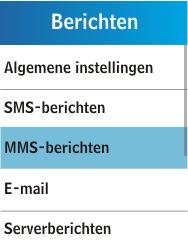 Samsung C3300K - MMS - handmatig instellen - Stap 5