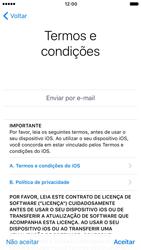 Apple iPhone 7 - iOS 10 - Primeiros passos - Como ativar seu aparelho - Etapa 20
