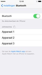 Apple iPhone 5c (iOS 9) - bluetooth - headset, carkit verbinding - stap 5