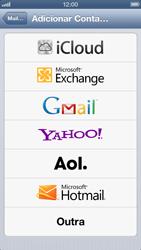 Apple iPhone iOS 6 - Email - Como configurar seu celular para receber e enviar e-mails - Etapa 5