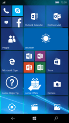 Microsoft Lumia 550 - MMS - Automatic configuration - Step 1