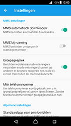 Sony E5823 Xperia Z5 Compact - Android Nougat - MMS - probleem met ontvangen - Stap 9