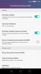 Huawei Honor 5X - Réseau - Changer mode réseau - Étape 8