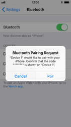 Apple iPhone 5s - iOS 11 - Bluetooth - Pair with another device - Step 6