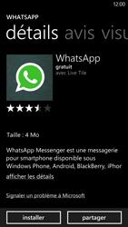 HTC Windows Phone 8X - Applications - Télécharger des applications - Étape 7