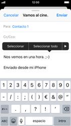 Apple iPhone SE iOS 11 - E-mail - Escribir y enviar un correo electrónico - Paso 9