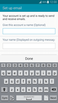 Samsung N910F Galaxy Note 4 - E-mail - Manual configuration - Step 18