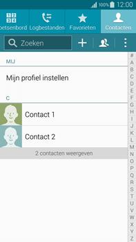 Samsung N910F Galaxy Note 4 - Contactgegevens overzetten - delen via Bluetooth - Stap 4