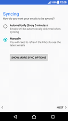 Sony Xperia XZ (F8331) - Android Nougat - E-mail - Manual configuration POP3 with SMTP verification - Step 22