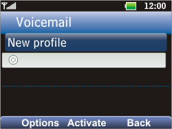 LG C360 Golf - Voicemail - Manual configuration - Step 8