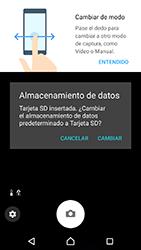 Sony Xperia XZ - Android Nougat - Funciones básicas - Uso de la camára - Paso 6