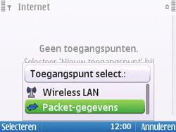 Nokia E5-00 - Internet - handmatig instellen - Stap 10