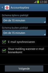 Samsung S6310 Galaxy Young - E-mail - e-mail instellen: IMAP (aanbevolen) - Stap 19