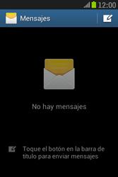 Samsung S6310 Galaxy Young - Mensajería - Configurar el equipo para mensajes de texto - Paso 4