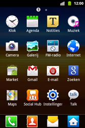 Samsung S5690 Galaxy Xcover - MMS - handmatig instellen - Stap 3