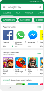 Samsung Galaxy S9 - Applications - Télécharger une application - Étape 4