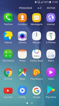 Samsung Galaxy On 7 - Rede móvel - Como ativar e desativar uma rede de dados - Etapa 3