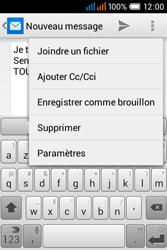 Alcatel OT-4015X Pop C1 - E-mails - Envoyer un e-mail - Étape 10