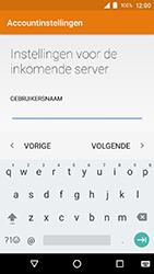 Crosscall Action X3 - E-mail - e-mail instellen: IMAP (aanbevolen) - Stap 13