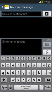 Samsung N9005 Galaxy Note III LTE - MMS - Envoi d