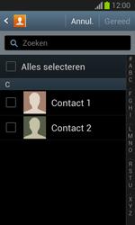 Samsung S7390 Galaxy Trend Lite - Contacten en data - Contacten kopiëren van SIM naar toestel - Stap 7