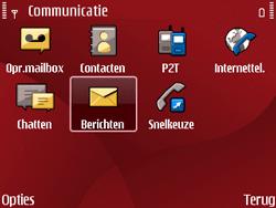 Nokia E63 - SMS - Handmatig instellen - Stap 4