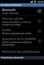 Samsung S6500D Galaxy Mini 2 - Bluetooth - connexion Bluetooth - Étape 7