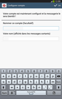 Samsung T315 Galaxy Tab 3 8-0 LTE - E-mail - Configuration manuelle - Étape 16