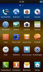 Samsung S8600 Wave 3 - E-mail - e-mail instellen: IMAP (aanbevolen) - Stap 3