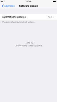 Apple iPhone 6 Plus - iOS 12 - Toestel - Software update - Stap 7