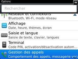 BlackBerry 9320 Curve - Messagerie vocale - Configuration manuelle - Étape 4