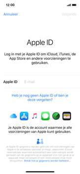 Apple iPhone XS - Data - Maak een back-up met je account - Stap 4