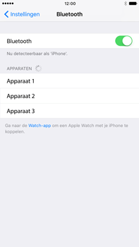 Apple iphone 6s plus met ios 10 mode a1687 - Bluetooth - Aanzetten - Stap 4