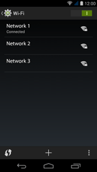 Acer Liquid Jade S - WiFi and Bluetooth - Manual configuration - Step 8