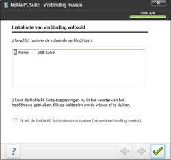 Nokia E66 - Software - PC-software installeren - Stap 15