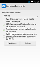 Alcatel POP C7 (OT-7041X) - E-mail - Configurer l