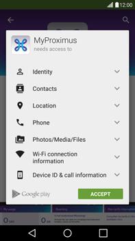 LG H815 G4 - Applications - MyProximus - Step 9