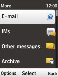 Nokia 6303i classic - E-mail - Sending emails - Step 5