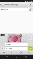 Sony Xpéria SP - Contact, Appels, SMS/MMS - Envoyer un MMS - Étape 16